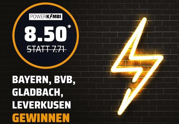 Bet3000 Powerkombi Bundesliga