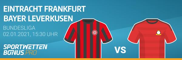 Wettvorschau und Quoten zu Frankfurt Leverkusen
