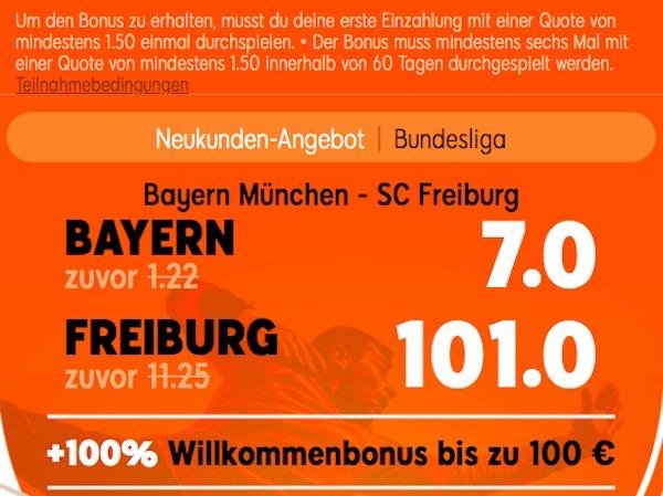 Quotenboost 888 FCB SCF