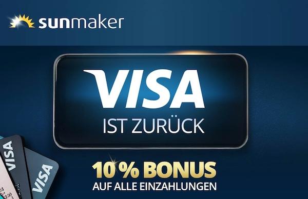 10 Prozent Visa
