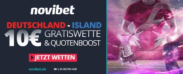 WM Quali Novibet 10 Euro Deutschland Island