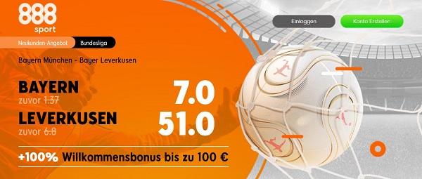 bayern leverkusen bundesliga top spiel quotenboost odds boost 888sport