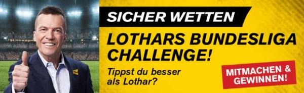 Lothars Bundesliga Challenge Angebot interwetten