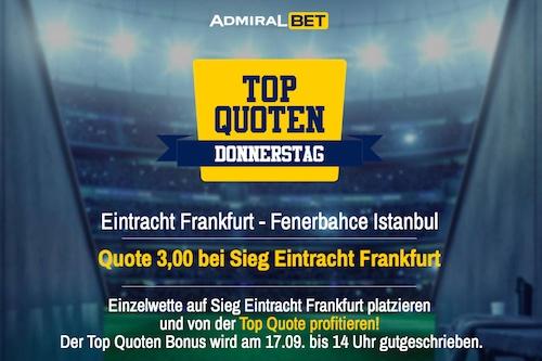Eintracht Fenerbahce AdmiralBET